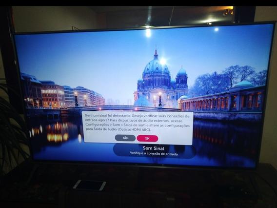 Tv LG 4k Smart 49 Polegadas Modelo 49uj7500 Leia A Descrição