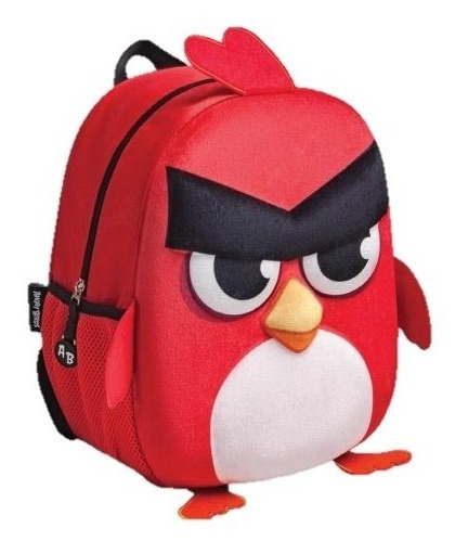 Mochila Hatchlings Angry Birds Kinder Con Carro Amp292