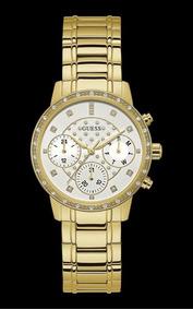 Relógio Feminino Guess Dourado Cronógrafo 92670lpgsda1