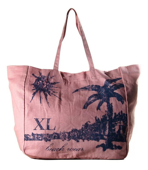 Cartera Xl Bolso Playero Suple Tote