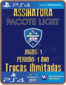 Ps4 Pacote Light 1 Ano