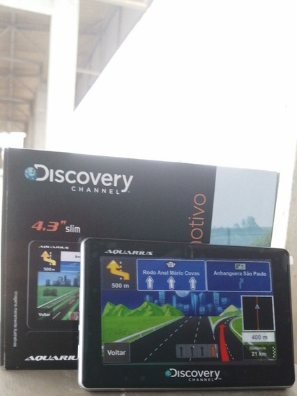 [ Novo 2019] Novo Gps Aquarius 4.3 Discovery Channel V8+