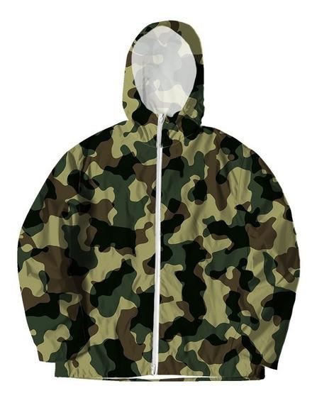 Jaqueta Corta Vento Camuflada Camo Militar Swag Tumblr #3