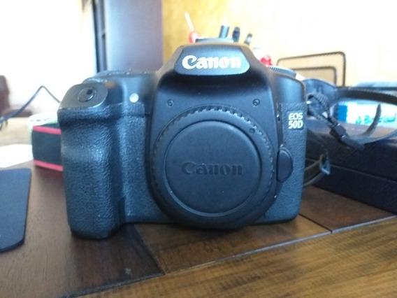 Camera Canon 50d Muito Bem Conservada, Funcionando Tudo.