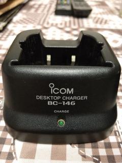 Cuna Icom Bc-146 Charge. Vhf Uhf
