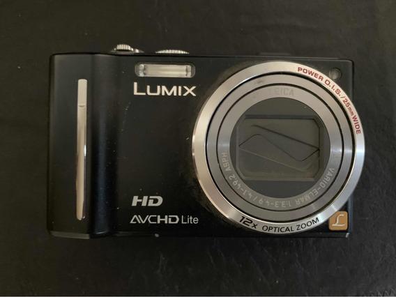 Panasonic Lumix Dmc-tz10 12.1 Mp - Tarjeta 8 Mb