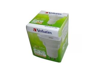 Pack X12 Dicroica Led Verbatim 2.8w = 35w 220v Gu10 Fria