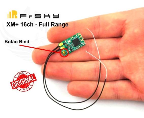 Receptor Frsky Micro Sbus Xm+ Plus Até 16ch Rssi Racer Fpv