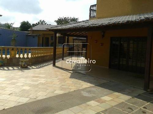 Casa Residencial À Venda, Centro, Maricá - Ca0963. - Ca0963