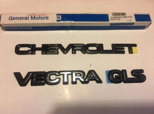 Insignias Chevrolet Vectra, Original.