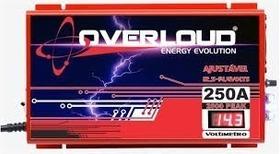 Fonte Carregador Overloud 250 Amp 14,4v Bivolt / Voltimetro