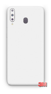 Capa Skin Adesivo 3m Branco Fosco Samsung Galaxy A50