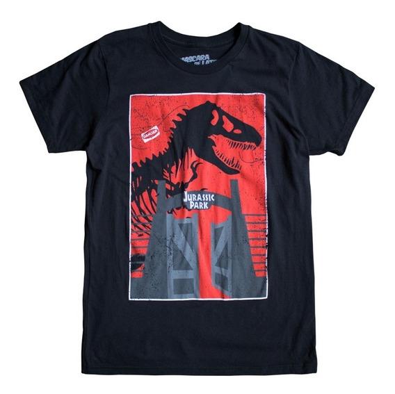 Máscara De Latex Playera Jurassic Park T Rex
