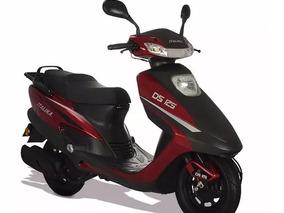 Motoneta Italika, Ds-125, Cero Kilómetros, Modelo 2017, Roja