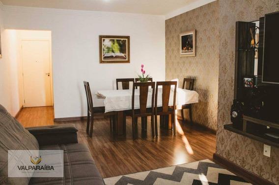 Apartamento Com 3 Dormitórios À Venda, 88 M² Por R$ 425.000,00 - Jardim Estoril - São José Dos Campos/sp - Ap0511