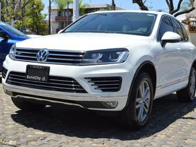 Volkswagen Touareg 2016 V8 R Line Blanco
