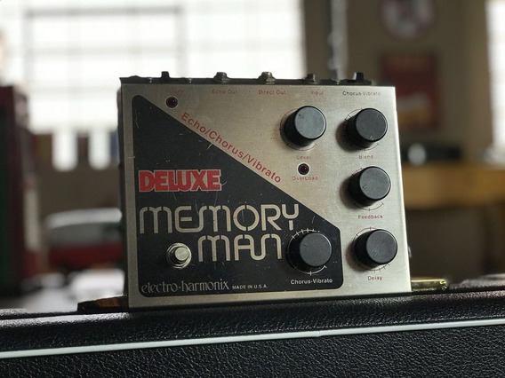 Pedal Delay Deluxe Memory Man Vintage Anos 80 - The Edge U2