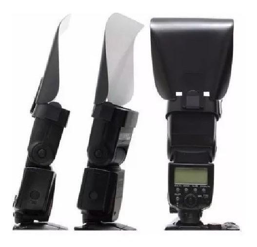 Rebatedor Rígido Para Speedlite Universal Canon, Nikon, Sony