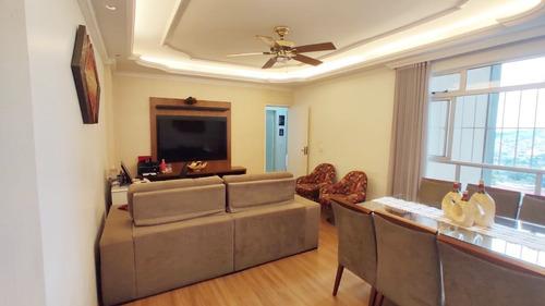Apartamento Com 4 Quartos Para Comprar No Conjunto Califórnia Em Belo Horizonte/mg - Ibh2064