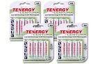 4 Card: 16 Tenergy Centura Aa Lsd Nimh Rechargeable Batterie