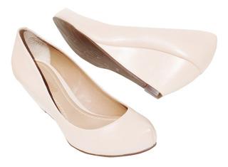 Sapato Scarpin Feminino Plataforma Anabela Dumond -número 35
