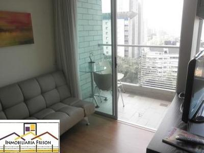 Renta De Apartamentos Amoblados En El Poblado Cód. 6162