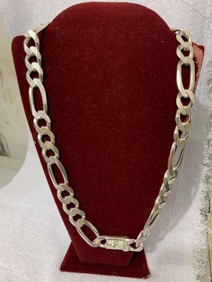Cordão Prata 950 3x1 Cartier 169gr