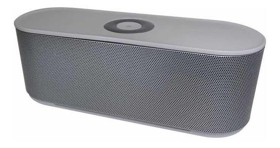 Caixa De Som Bluetooth K127 Prata