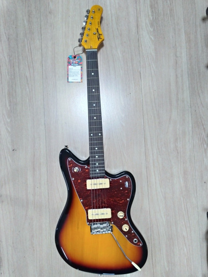 Guitarra Tagima Jazzmaster Woodstock Tw61 P90 Varitone Sb