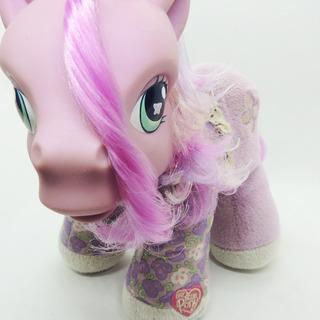 Mi Pequeño Pony Mlp Petal Dove 2004 So Soft Pony Baby Alive