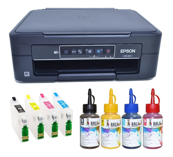 Impressora Ep Xp241 Cartucho Recarregável, Chave Desbloqueio
