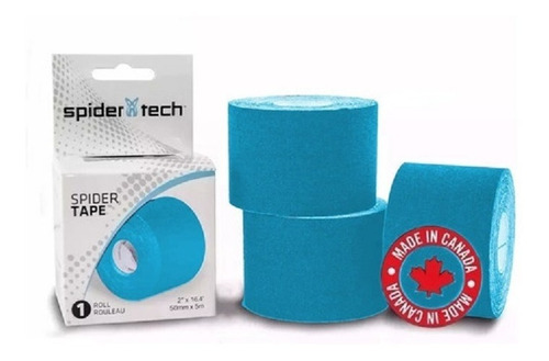 Cinta Kinesio Taping Spidertech ® Tape Rollo 5 Mts