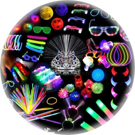 Combo Cotillón Luminoso 102 Artículos #tu-fiesta-unica