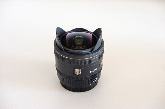 Sigma 10mm 2.8 Fisheye Olho De Peixe Canon
