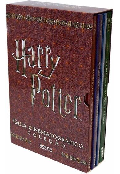 Harry Potter - Box Coleção De 4 Livros Guia Cinematográfico