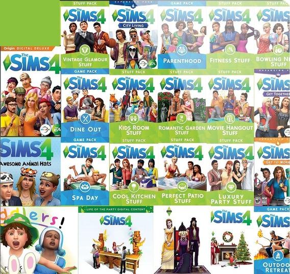 The Sims 4 Com Todas Expansões - Pc Mídia Digital