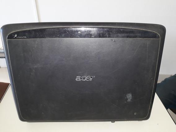 Carcaça Notebook Acer Aspire 7520 Completa! Base Tampa Aste