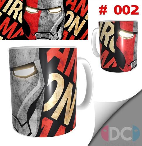 Taza Comics Coleccionables Iron Man #002