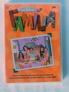 Dvd A Grande Familia (2012) 1 Disco Novo Original Lacrado!!