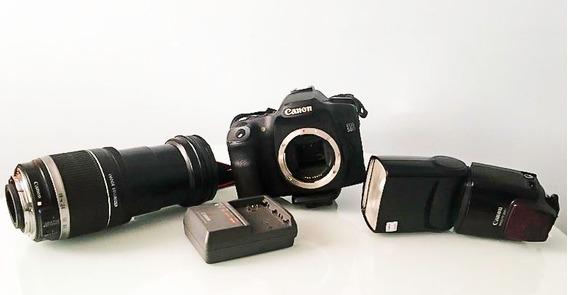 Maq. Fotog. Eos 50d - Lente 18-200 - Flash 580ex