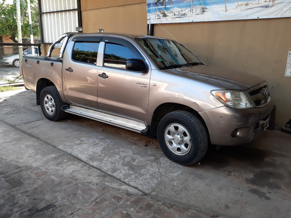 Toyota Hilux 2007 ,2.5 4x2 Diesel Con Gnc