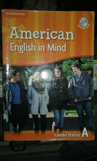 Livro De Ingles American English In Mind - Combo Starter A