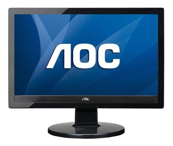 Monitor Aoc 16 Wide Modelo 1619sw Promoção