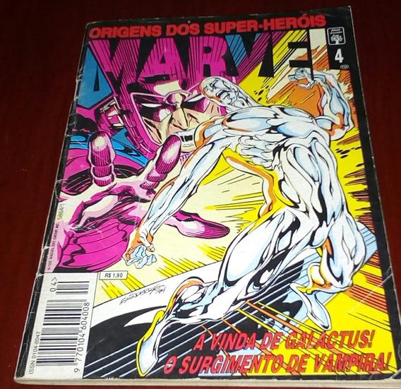 Hq Marvel. Origens Dos Super Heróis