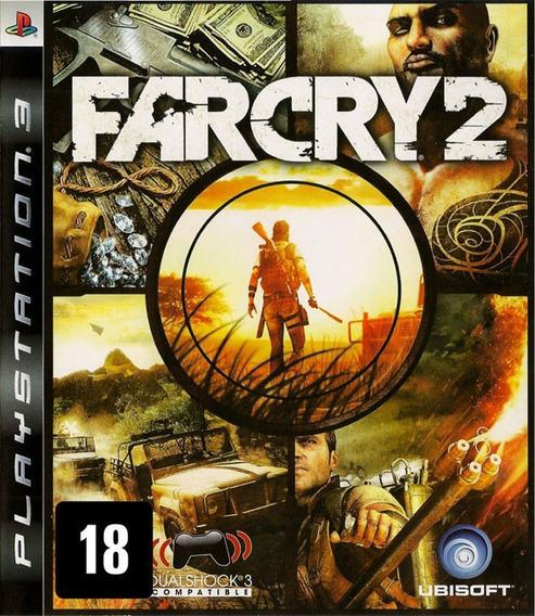 Jogo Far Cry 2 Playstation 3 Ps3 Mídia Física Game Úbisoft