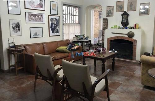 Imagem 1 de 19 de Casa À Venda, 300 M² Por R$ 2.660.000,00 - Pacaembu - São Paulo/sp - Ca0547