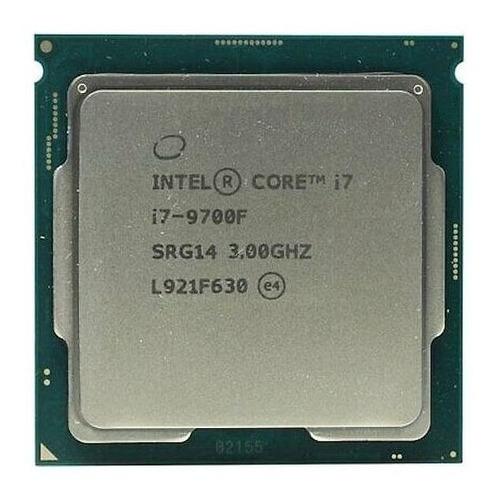 Processador gamer Intel Core i7-9700F BX80684I79700F de 8 núcleos e 3GHz de frequência