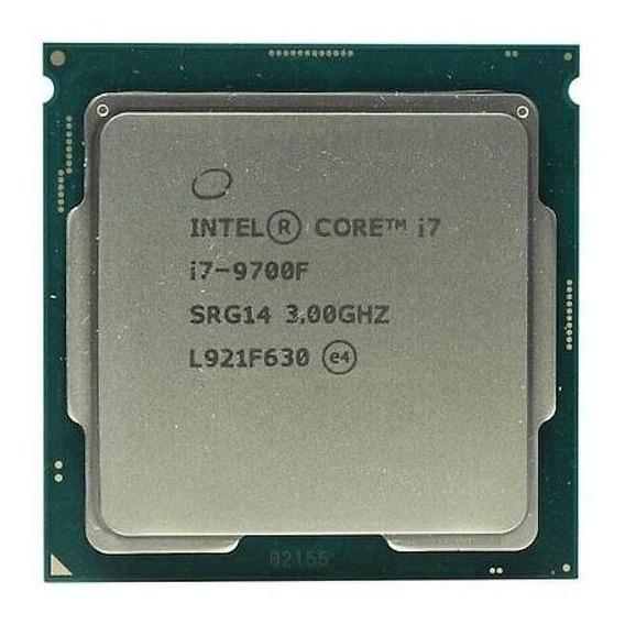 Processador Intel Core i7-9700F BX80684I79700F de 8 núcleos e 4.7GHz de frequência