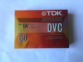 Fita Mini Dvc Tdk 60 Minutos Original Lacrada