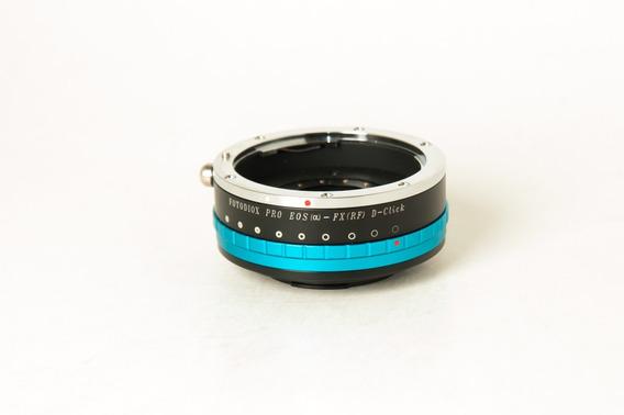 Adaptador Canon Eos / Fx Fotodiox Pro
